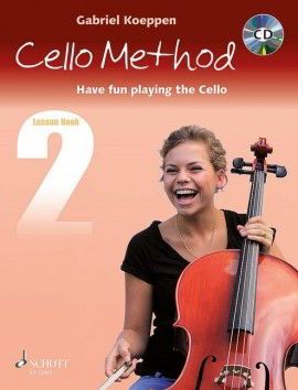 Koeppen: Cello Method - Lesson Book 2 published by Schott