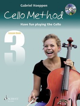 Koeppen: Cello Method - Lesson Book 3 published by Schott