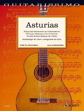 Guitarissimo - Asturias published by Schott