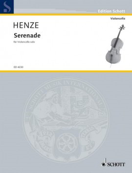 Henze: Serenade for Cello published by Schott