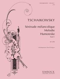Tchaikovsky: Tchaikovsky for Cello Volume  1 published by Simrock
