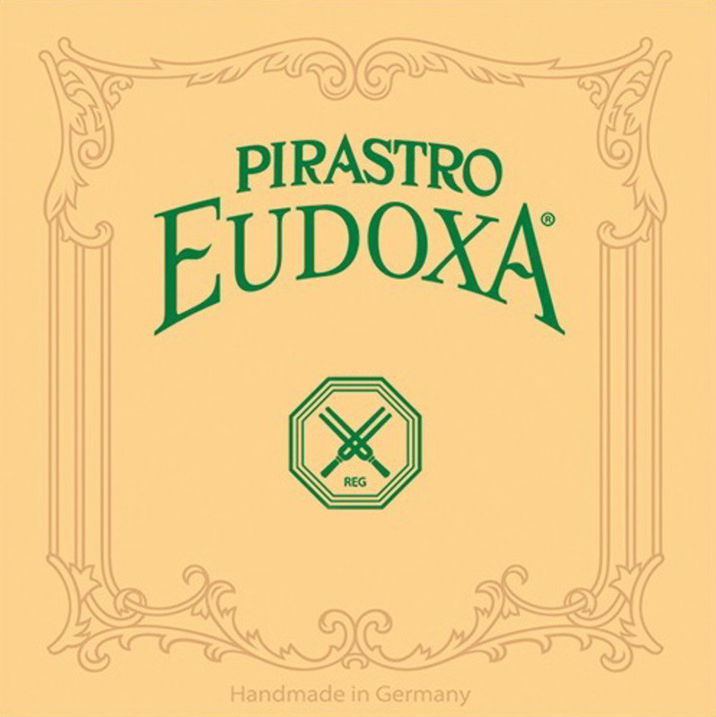 Eudoxa Violin D String (Knot End - High Tension - Straight) - 4/4 Size