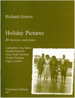Graves: Holiday Pictures for Bb Baritone published by Emerson