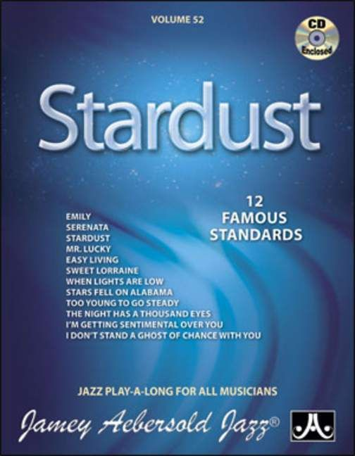 Aebersold 52 Stardust Book & CD for All Instruments