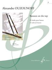 Ouzounoff: On The Top Volume 1 for Bassoon published by Billaudot
