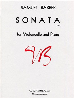 Barber: Sonata Opus 6 for Cello published by Schirmer