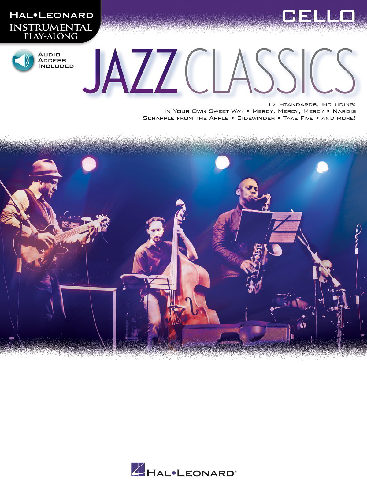 Jazz Classics - Cello published by Hal Leonard  (Book/Online Audio)