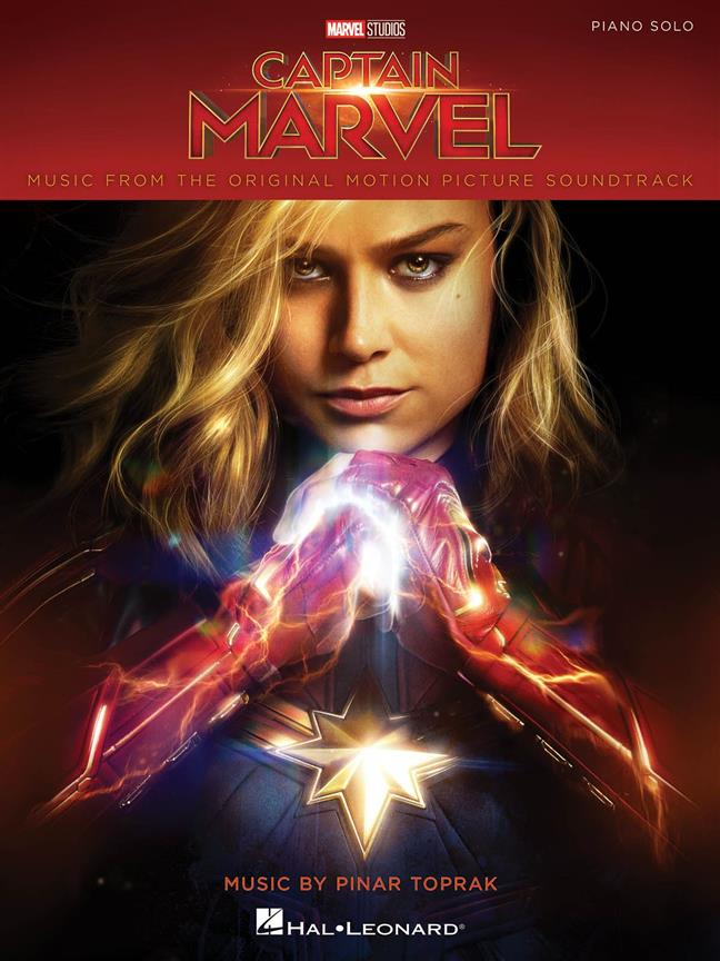 Captain Marvel Movie Soundtrack published by Hal Leonard