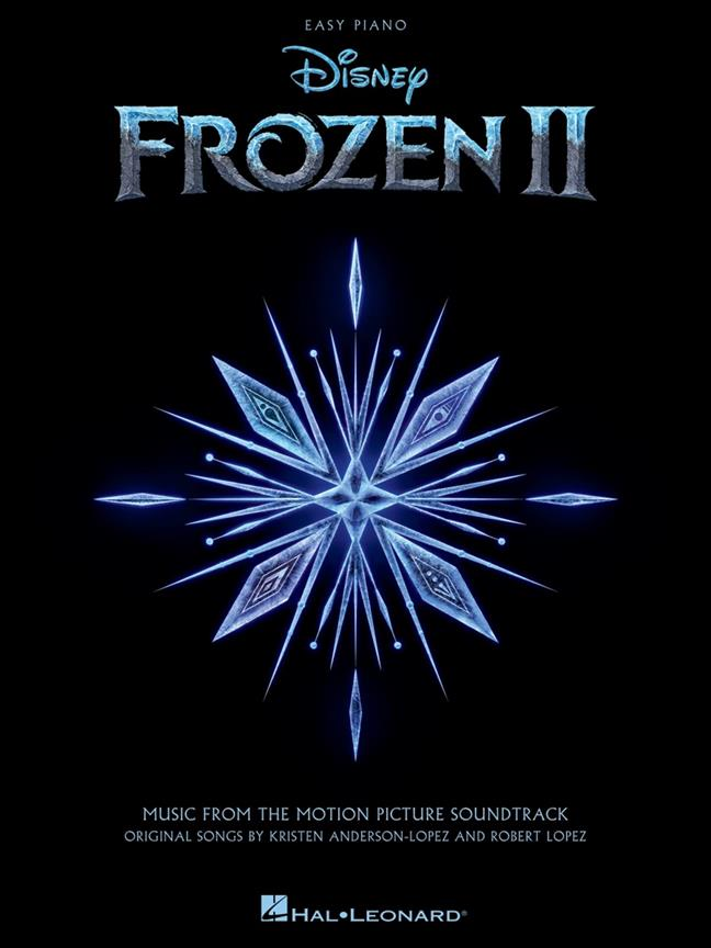 Frozen II for Easy Piano published by Hal Leonard