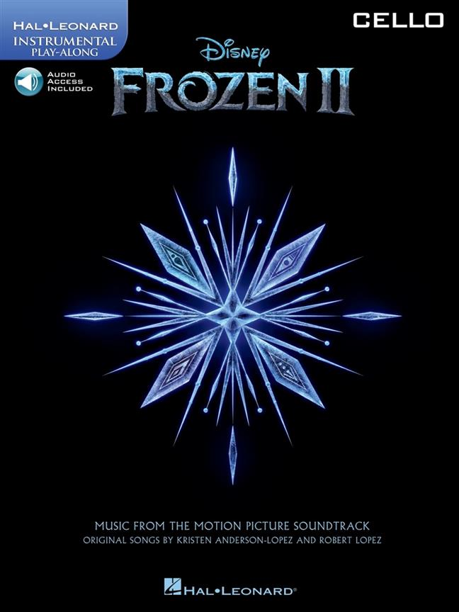 Frozen II - Cello published by Hal Leonard (Book/Online Audio)
