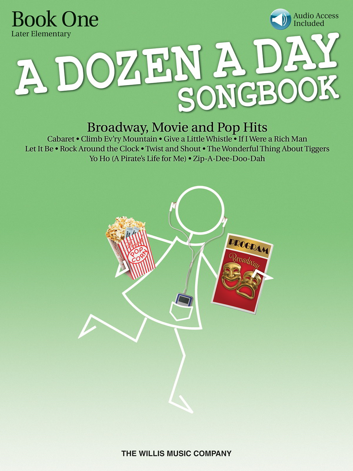 A Dozen A Day Songbook: Book 1 - Later Elementary for Piano published by Willis (Book/Online Audio)
