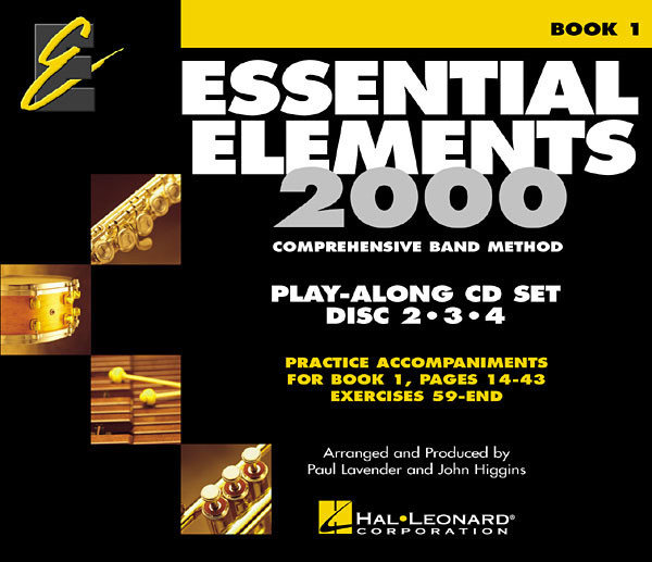 Essential Elements 2000 Book 1 - CD Accompaniments published by Hal Leonard