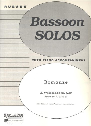 Weissenborn: Romanze for Bassoon published by Rubank