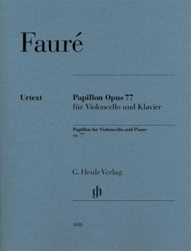 Faure: Papillon Opus 77 for Cello published by Henle