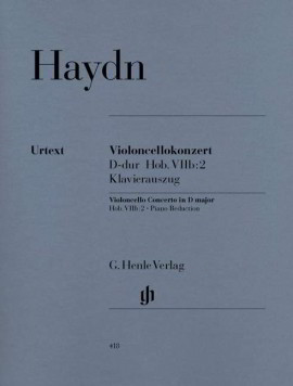 Haydn: Concerto in D for Cello published by Henle Urtext