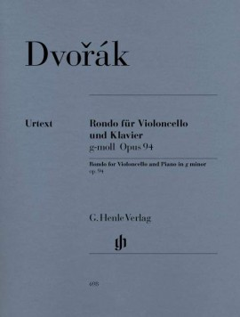 Dvorak: Rondo in G minor Opus 94 for Cello published by Henle