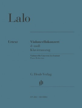 Lalo: Concerto in D Minor for Cello published by Henle