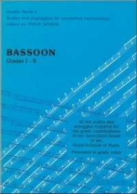 Sparke: Scales & Arpeggios for Bassoon published by Studio Music