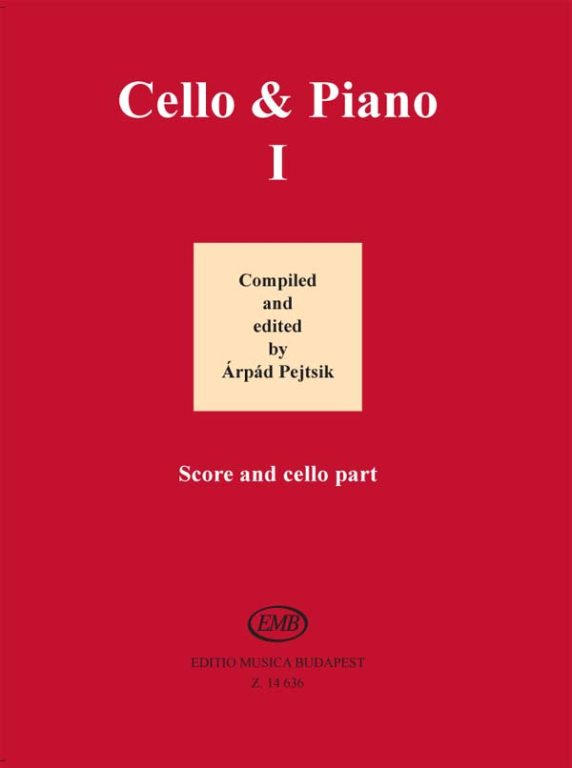 Cello and Piano 1 published by EMB