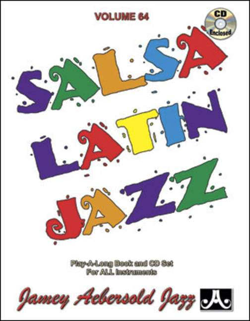 Aebersold 64 Salsa Latin Jazz Book & CD for All Instruments