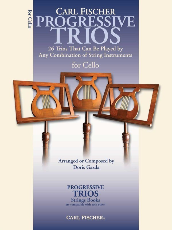 Progressive Trios for Strings (Parts for Cello) published by Carl Fischer