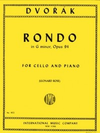 Dvorak: Rondo Opus 94 for Cello published by IMC