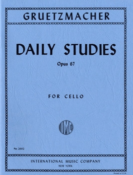 Grutzmacher: Daily Exercises Opus 67 for Cello published by IMC
