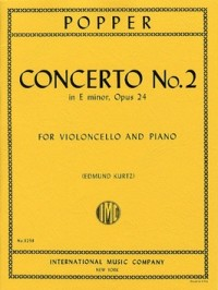 Popper: Concerto No 2 in E minor Opus 24 for Cello published by IMC