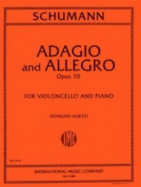 Schumann: Adagio & Allegro Opus 70 for Cello published by IMC