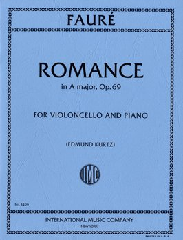 Faure: Romance in A Opus 69 for Cello published by IMC
