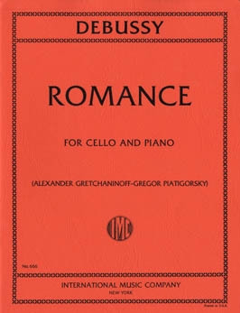 Debussy: Romance for Cello published by IMC