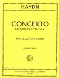 Haydn: Concerto No 2 in D for Cello published by IMC