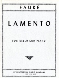 Fauré: Lamento for Cello published by IMC