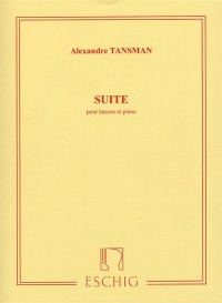 Suite for Bassoon by Tansman published by Eschig