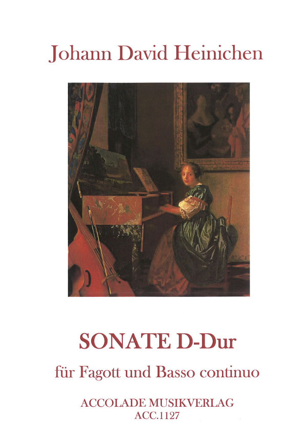 Heinichen: Sonata in D for Bassoon published by Accolade Musikverlag