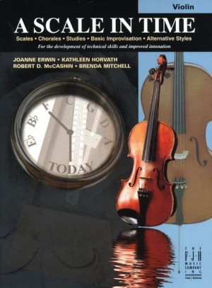 A Scale In Time - Violin published by FJH Music