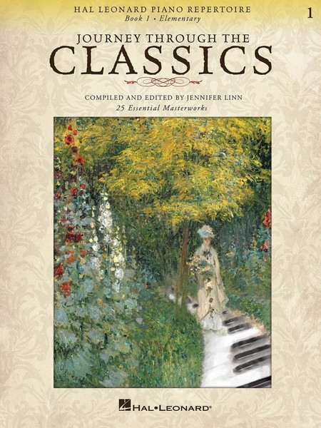 Journey Through the Classics: Book 1 for Piano published by Hal Leonard