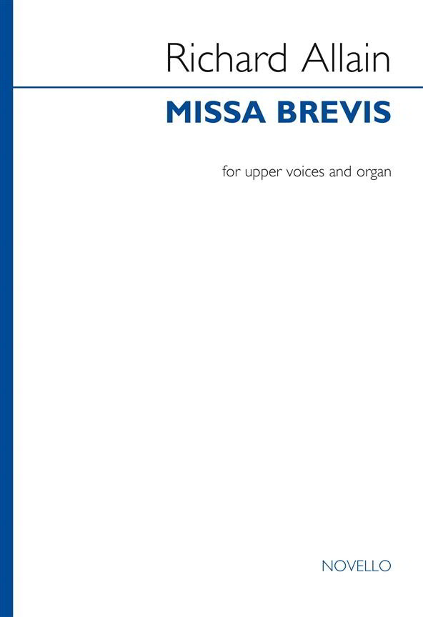 Allain: Missa Brevis (Upper Voices) published by Novello