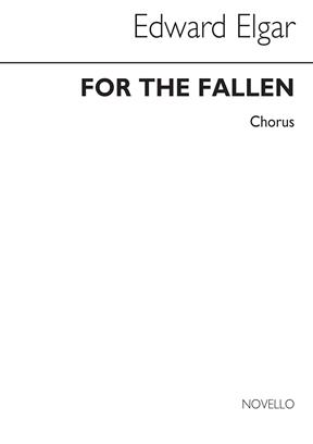 Elgar: For the Fallen SATB published by Novello