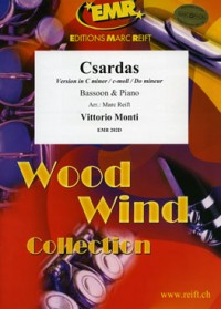 Monti: Csardas in C min for Bassoon published by Reift