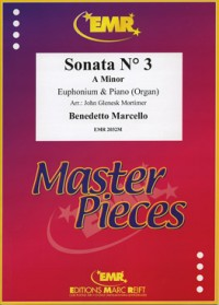 Marcello: Sonata No 3 in A Minor for Euphonium published by EMR