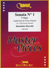 Marcello: Sonata No 1 in F for Euphonium published by EMR