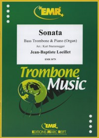 Loeillet: Sonata in Ab major for Bass Trombone published by EMR
