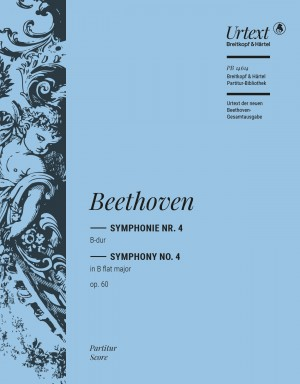 Beethoven: Symphony No 4 in Bb major Op 60 published by Breitkopf - Full  Score