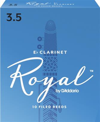 Royal by D'Addario Eb Clarinet Reeds (Pack of 10)