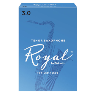 Royal by D'Addario Tenor Saxophone Reeds (Pack of 10)