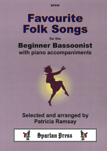 Favourite Folk Songs for Bassoon published by Spartan
