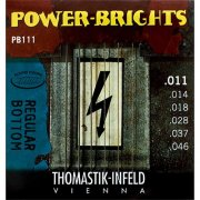 Thomastik PB111 Power-Bright 11-46 Electric Guitar Strings Medium Set