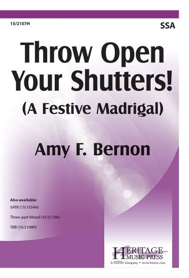 Bernon: Throw Open Your Shutters SSA published by Heritage