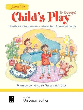 Rae: Child's Play for Trumpet published by Universal